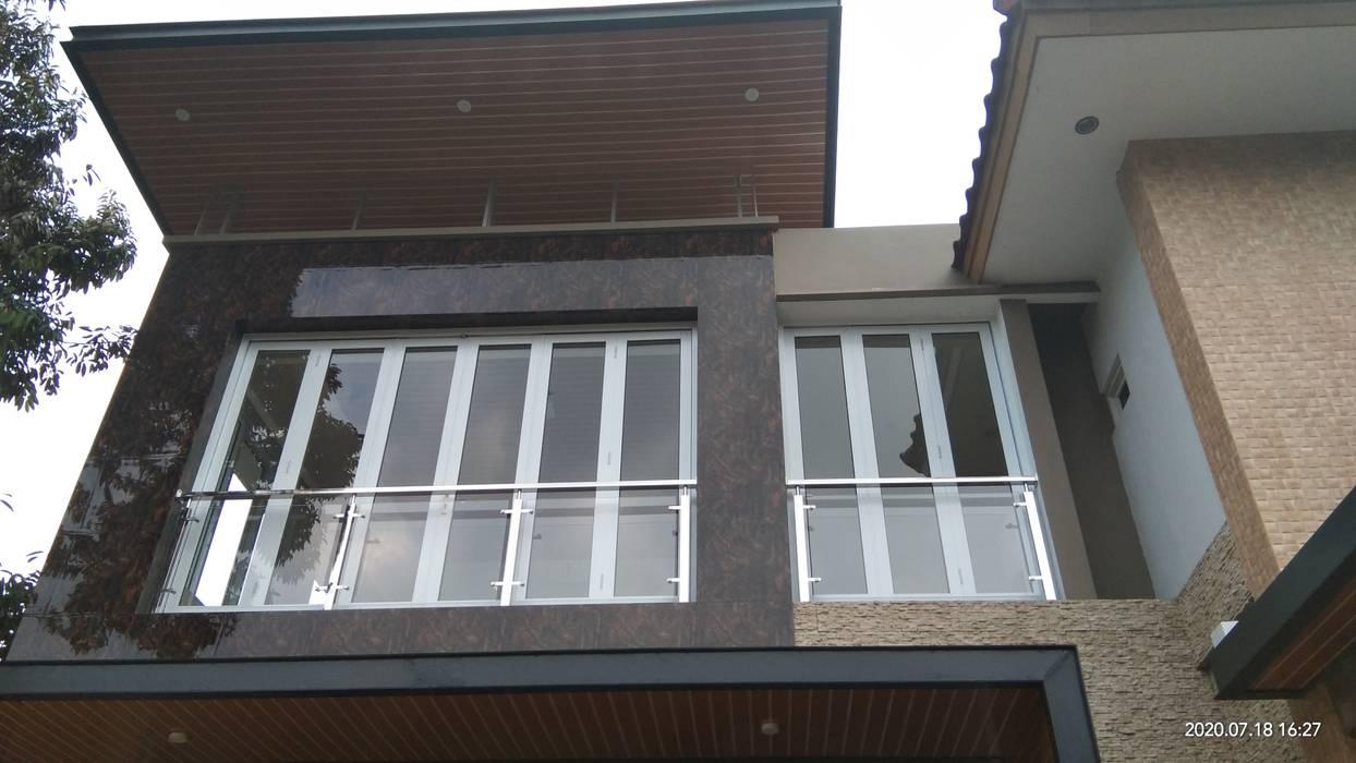 Alfaiz Design Double Garage Plastic Wood effect