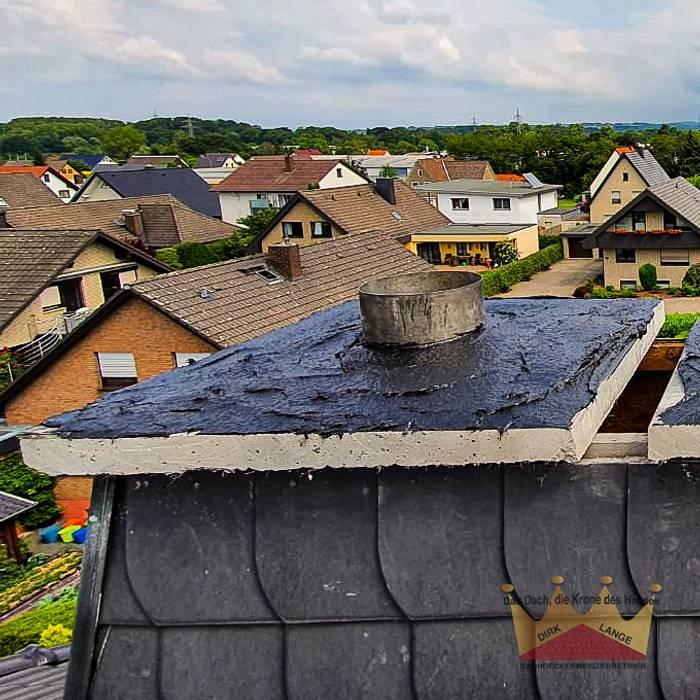 Reparatur Kamin in Kirchlengern Dachdeckermeisterbetrieb Dirk Lange   Büro Herford Satteldach