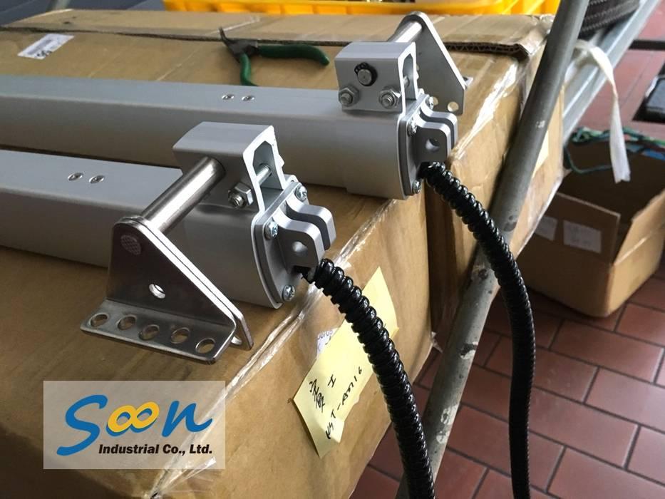 Soon Industrial Co., Ltd. Concesionarios de estilo industrial Aluminio/Cinc Gris