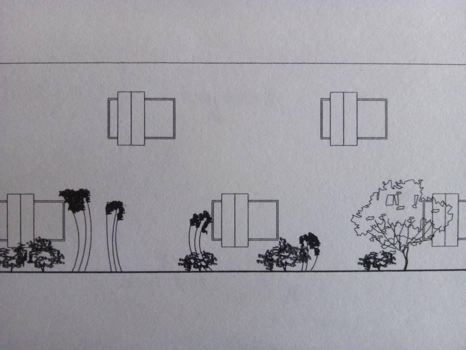 La solemnidad de S. in the Garden, jardines de verdad Minimalista