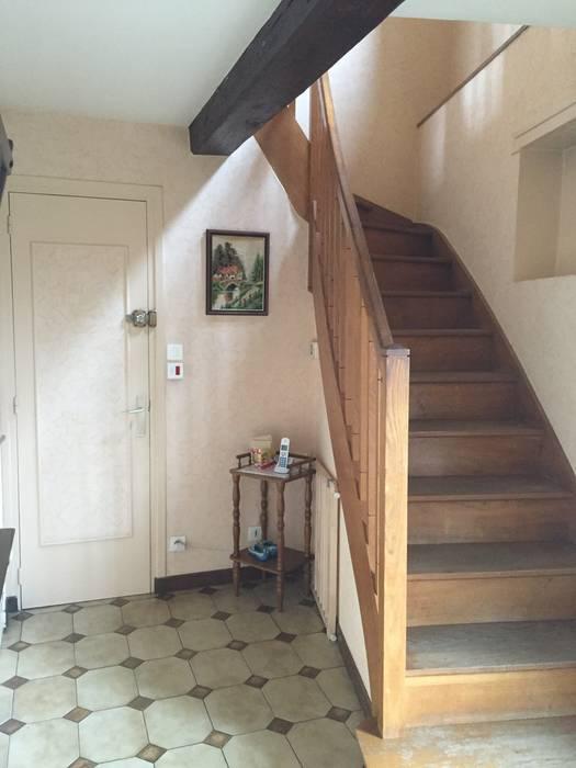 Escalier AVANT les travaux C'LID INTERIEURE