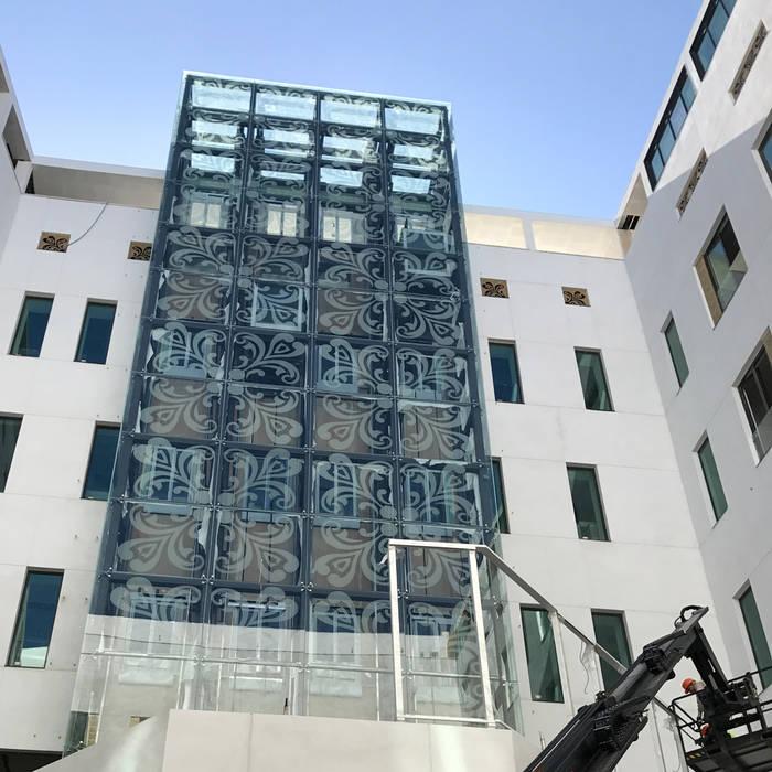 Vidriera del Cardoner Hotels Glass