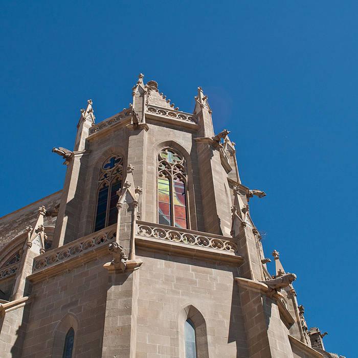 VITRALES   Basílica de la Seu de Manresa Vidriera del Cardoner Puertas y ventanas de estilo clásico Vidrio