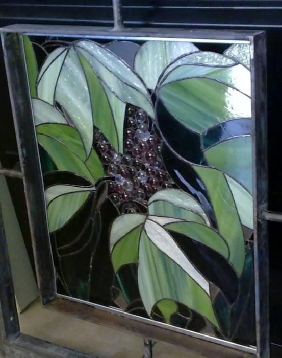 MKVidrio Raumbegrünung Glas Grün