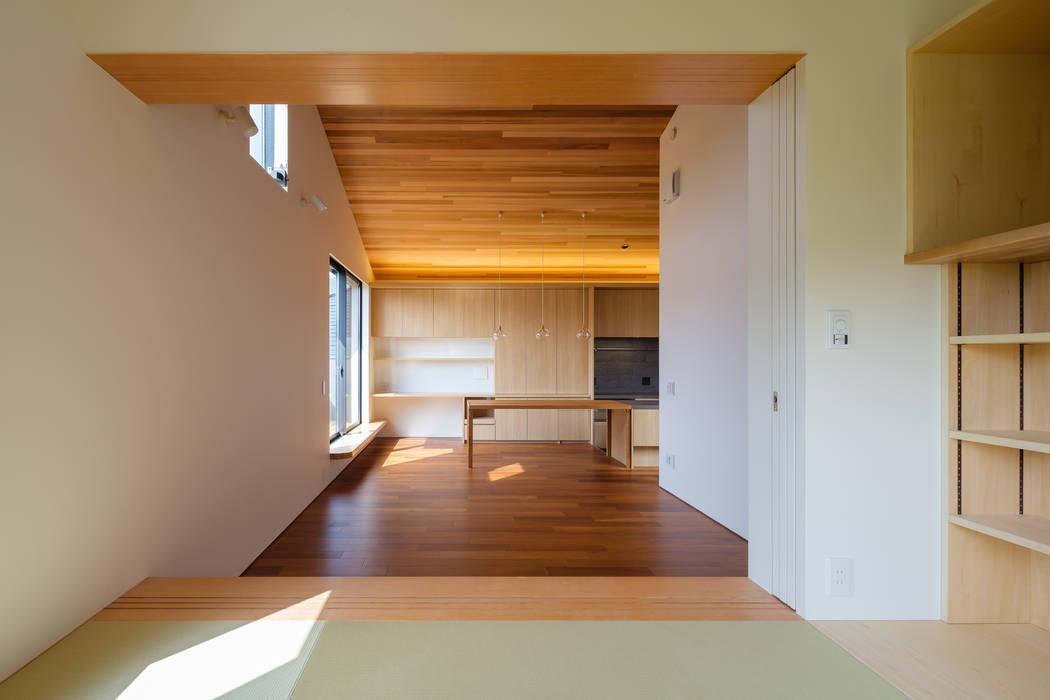 明大前の賃貸併用二世帯住宅 設計事務所アーキプレイス フローリング 合板(ベニヤ板) 木目調