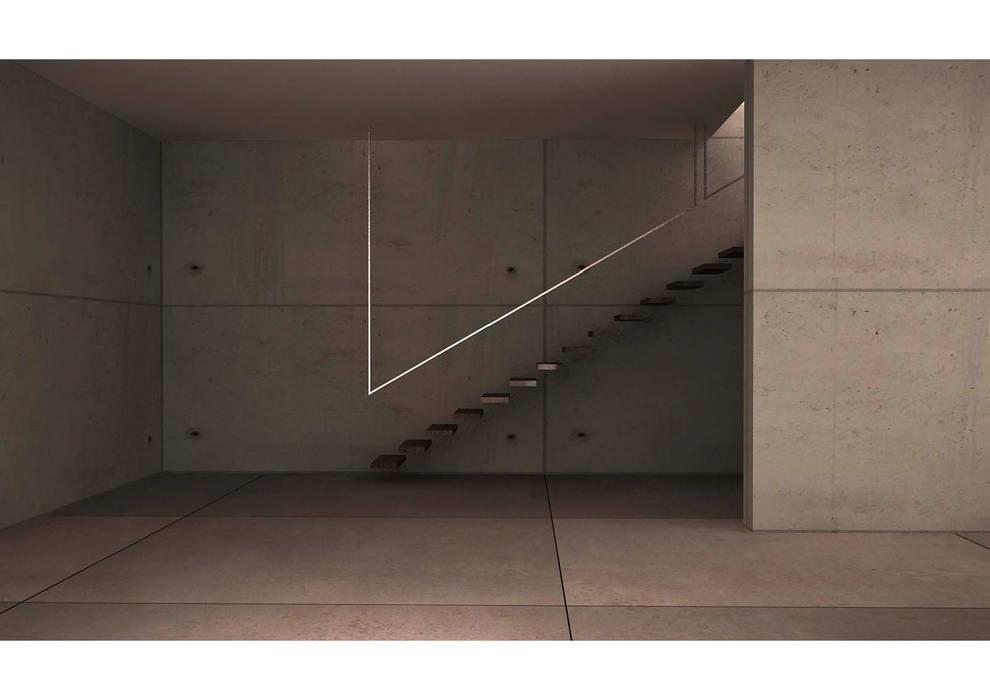 Estudio chalet en Soto – Cabañaquinta – ASTURIAS www.disegn.com Garajes de estilo moderno