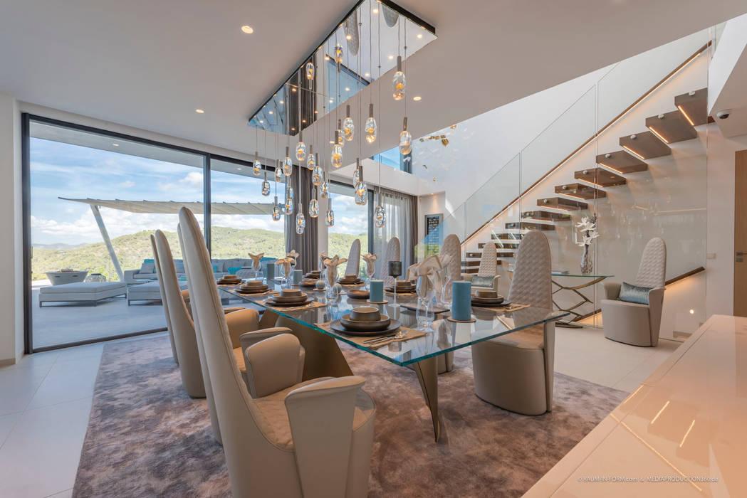 Offenes Wohnzimmer Moderne Wohnzimmer von raum in form - Innenarchitektur & Architektur Modern