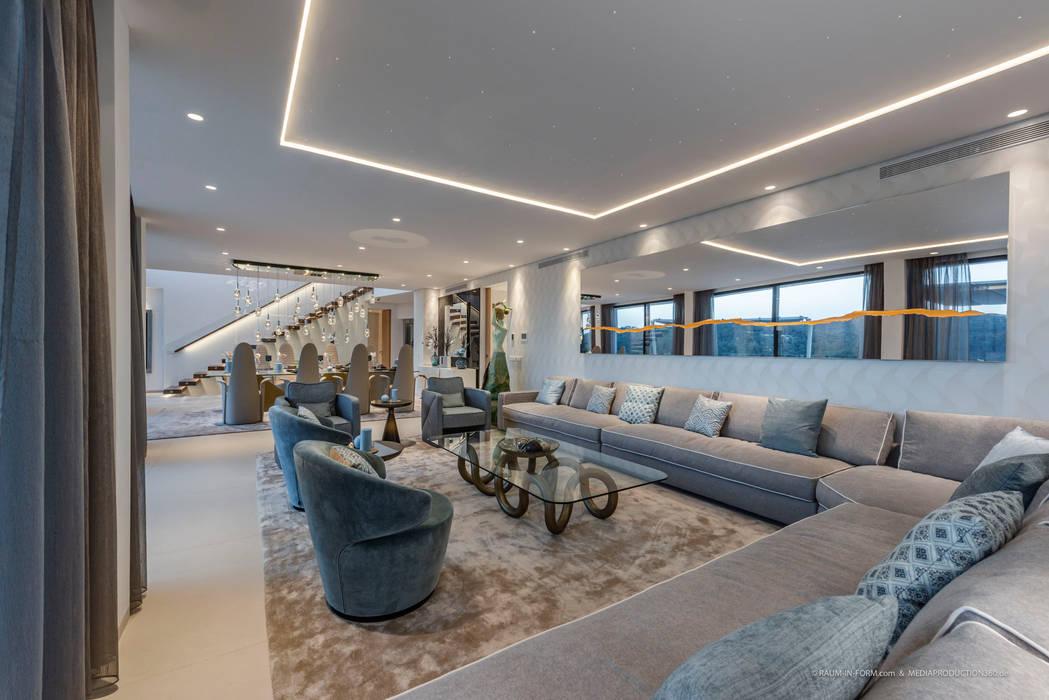 Offener Wohnbereich Moderne Wohnzimmer von raum in form - Innenarchitektur & Architektur Modern