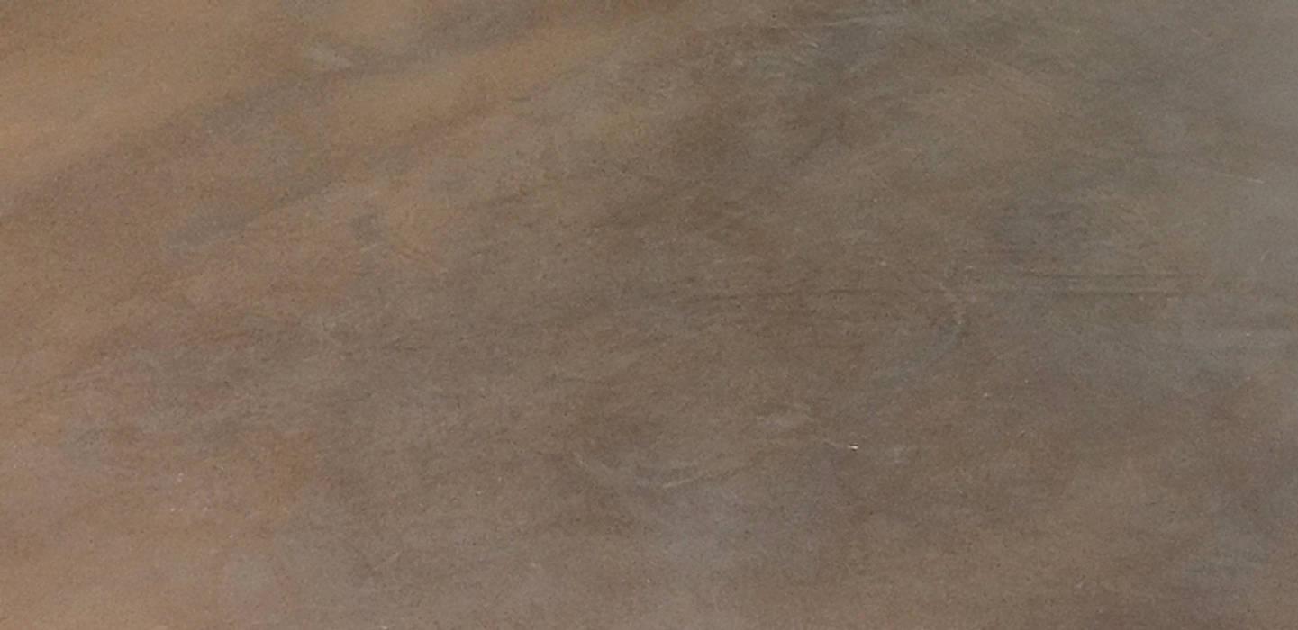 Fugenloser Boden in Cognac-Tönung von Francoise Eichhorst Modern