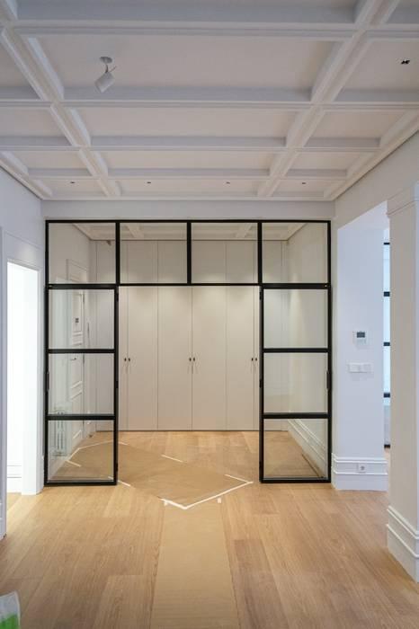 Reforma vivienda en Bilbao Spazio Vbobilbao Salones de estilo moderno