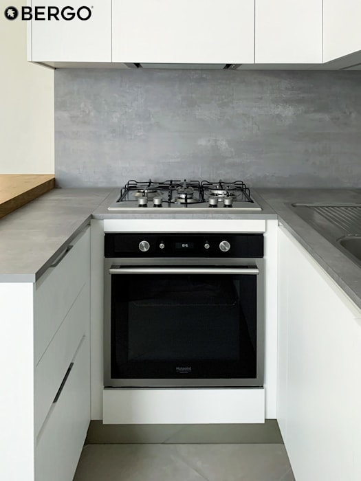 Bergo Arredi Built-in kitchens Wood White