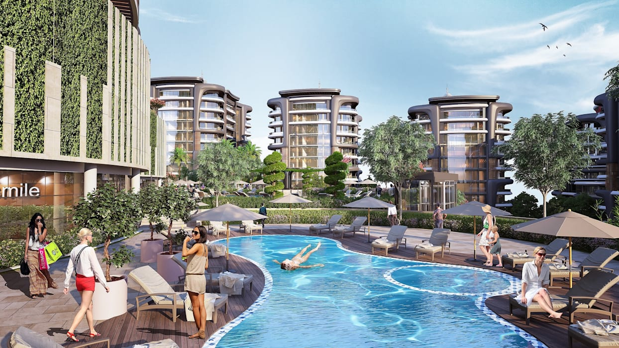 Meva Anadolu Zeray İnşaat A.Ş. Garden Pool