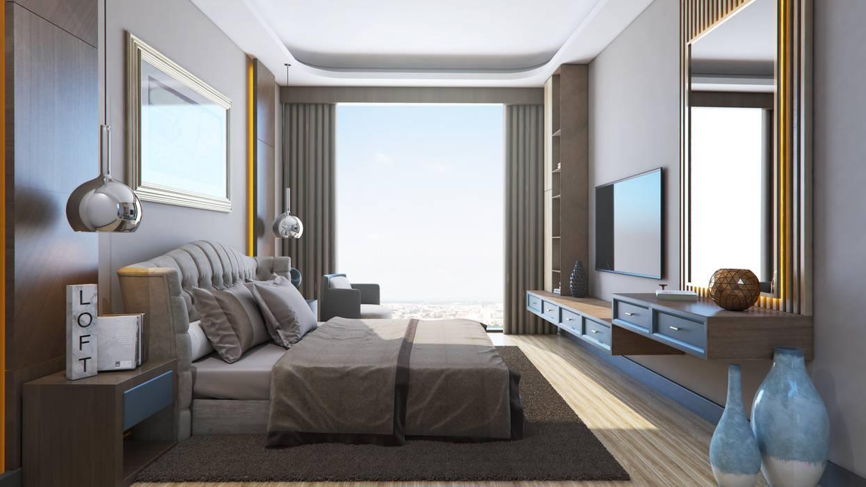 Meva Anadolu Zeray İnşaat A.Ş. Modern Bedroom