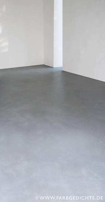 Boden im Betonlook Francoise Eichhorst Boden Beton