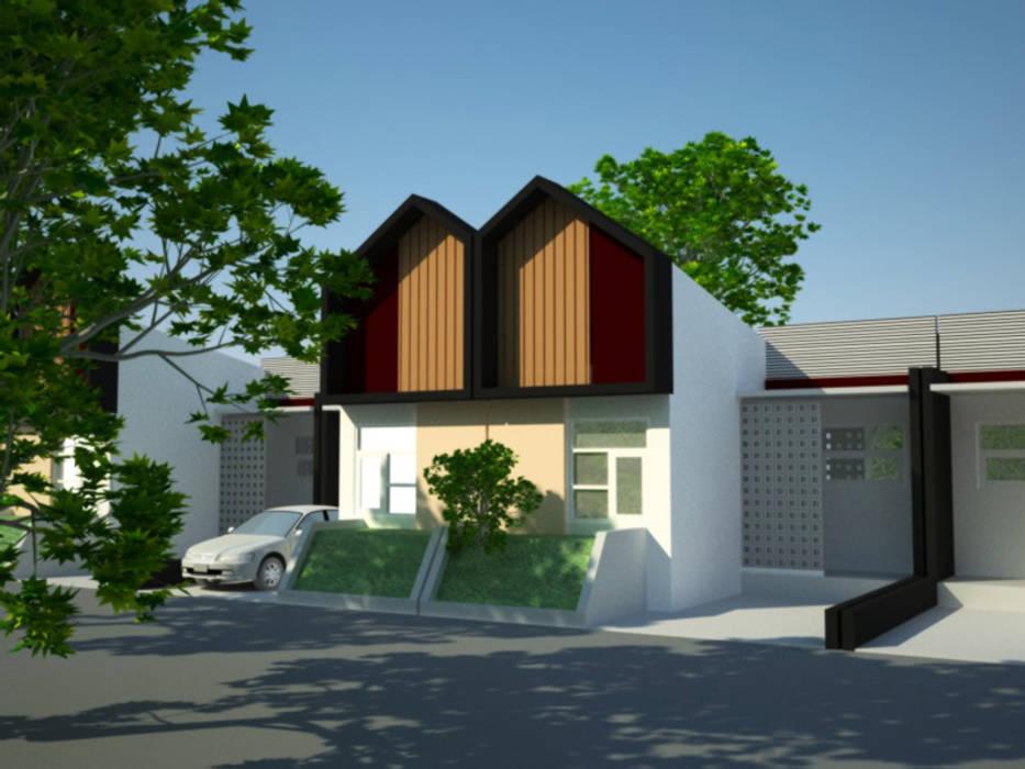 rumah komersil type 36/60 Oleh idesignarchitect78 Minimalis