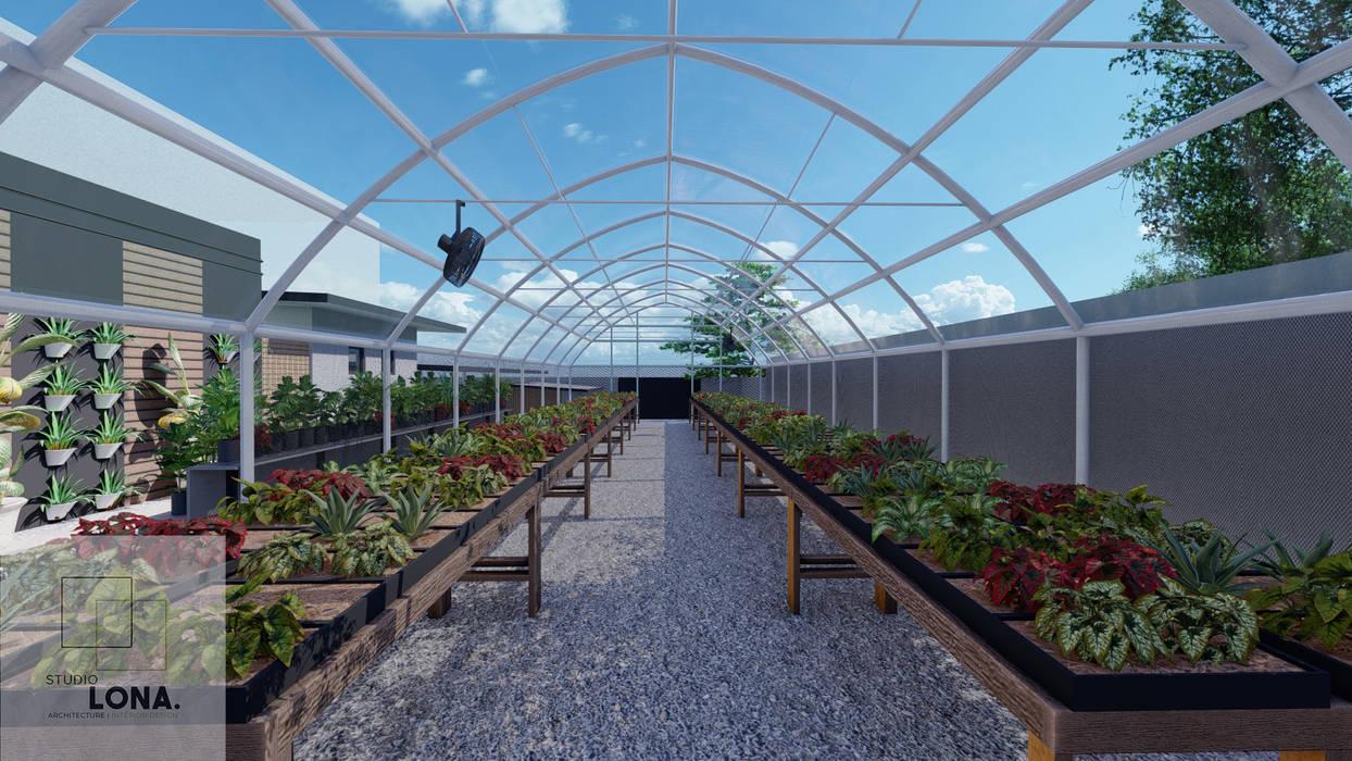 GARDEN Studio Lona Industrial style garden Iron/Steel Grey