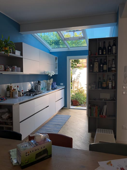 cucina in veranda WBA Cucinino