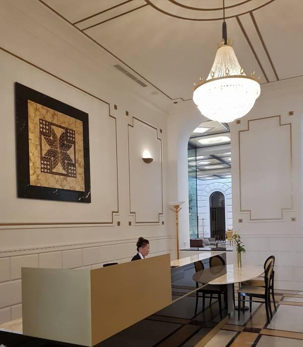 Palais Schottenring Vienna Conciergebereich von Stroili Stone GmbH Klassisch Marmor