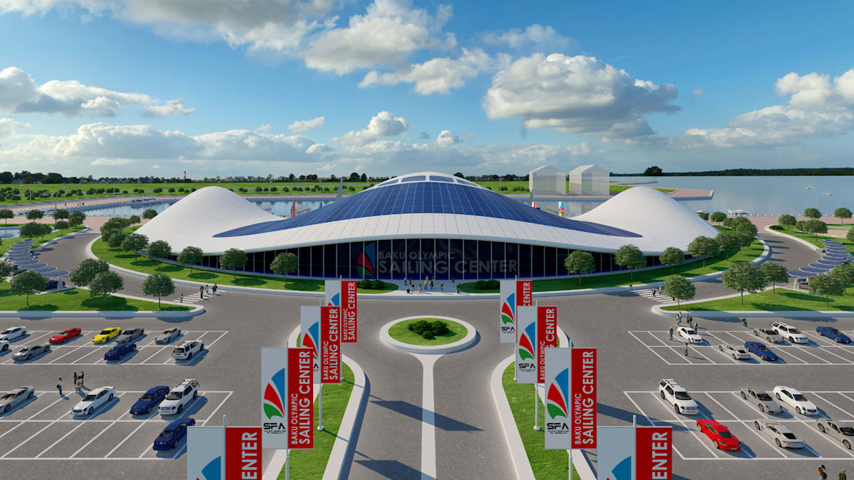 Shell by Giancarlo Zema for Sailing Federation of Azerbaijan Giancarlo Zema Design Group Case moderne