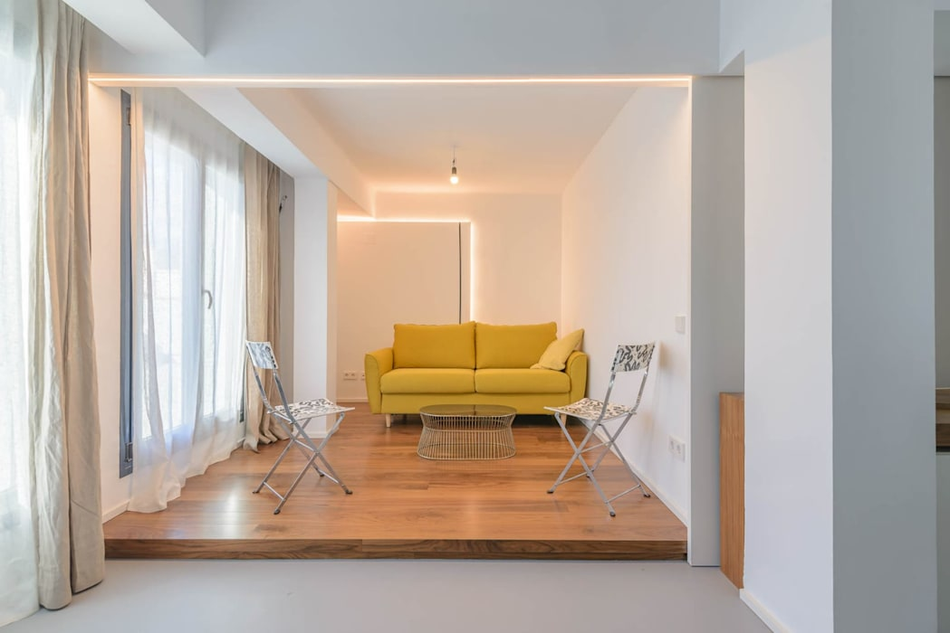 Reforma Humanista Quimera Renovacion SL Salones de estilo minimalista