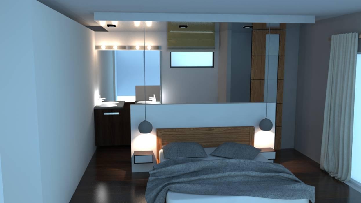 SAB & CO Modern style bedroom