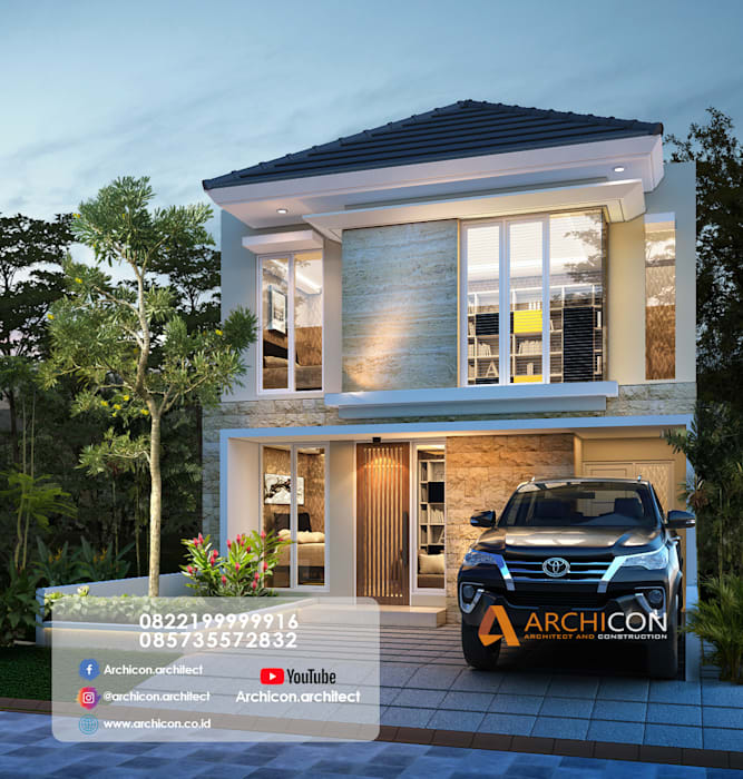 Jasa Arsitek Gresik   Jasa Desain Rumah Gresik  arsitek rumah gresik, jasa arsitek perumahan gresik, kontraktor perumahan gresik Archicon Architect Unit dapur Batu Pasir Brown