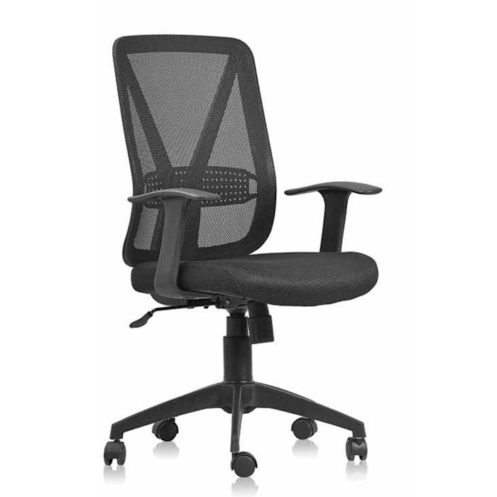 Sun upholstered black office armchair by Colombini Casa My Italian Living Office spaces & stores