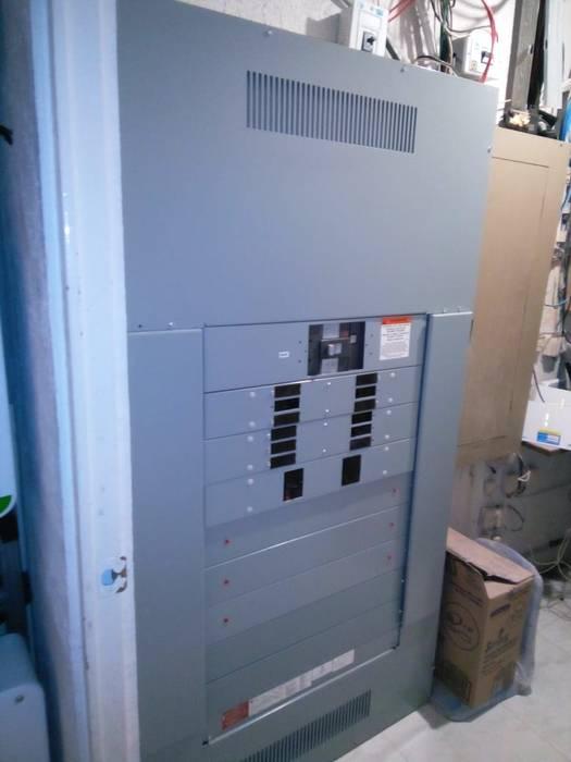 Tablero Electrico de 400 amps, integrado al proyecto Eber Eleazar Arciniega Delgado