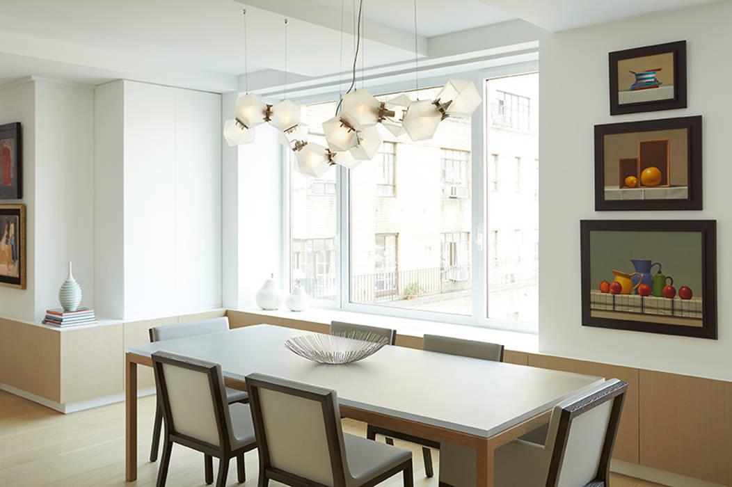 Darci Hether New York Ruang Makan Modern