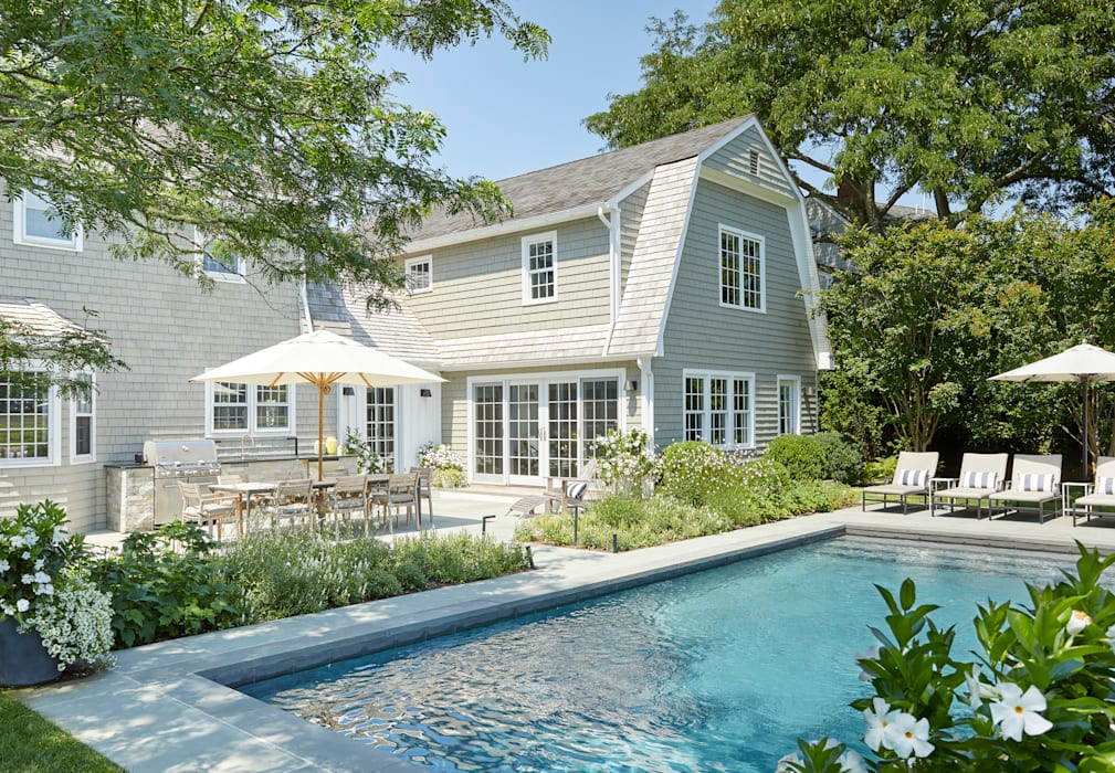 All about ease: Family home in Bridgehampton, NY Darci Hether New York Modern Houses