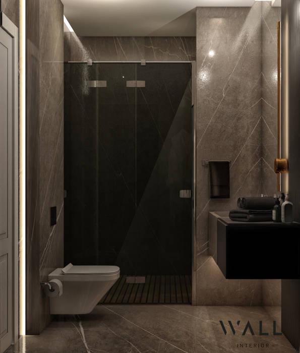 WALL INTERIOR DESIGN Modern bathroom