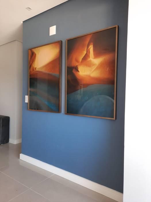 Apartamento Unicco Salas de jantar modernas por Studio Wright Moderno