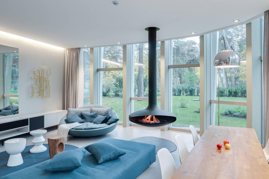 Galbiati Milano Design Hub Livings de estilo moderno Azul