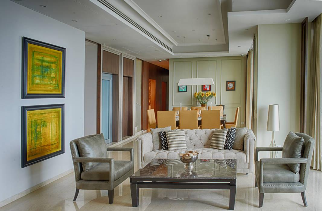 One Avighna Park Anusha Technovision Pvt. Ltd. Modern living room