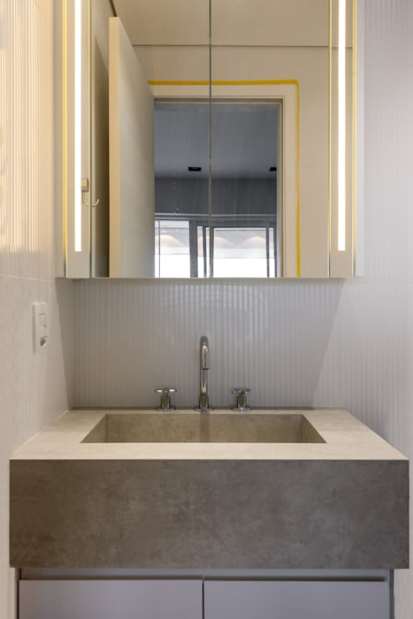 Spazhio Croce Interiores BathroomSinks Keramik Grey