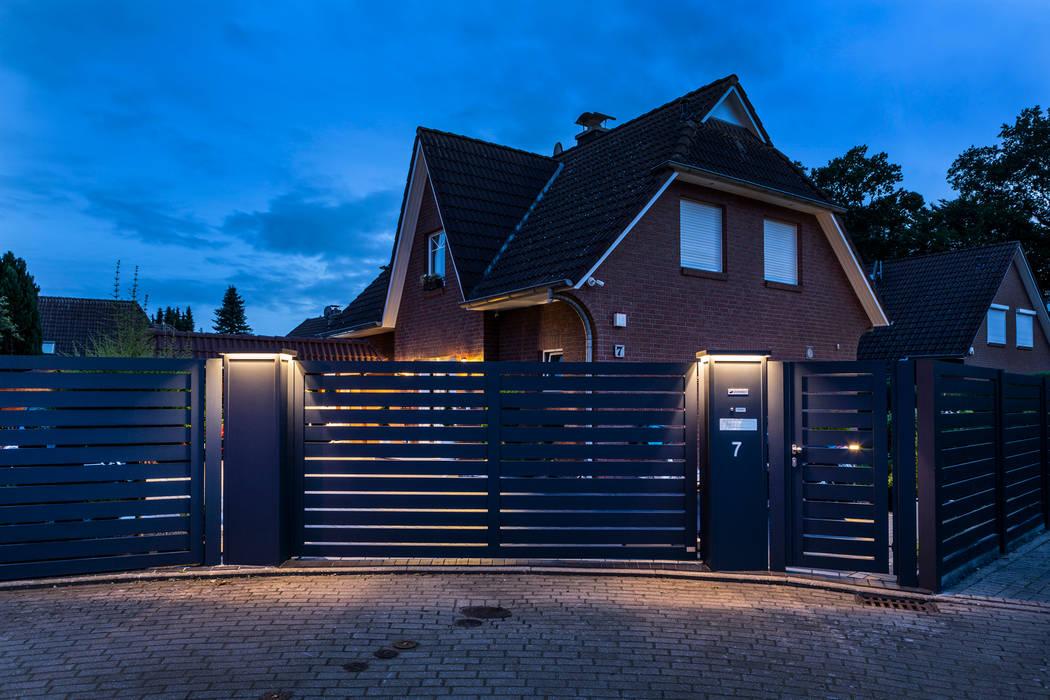 Nordzaun Garden Fencing & walls Aluminium/Seng Grey