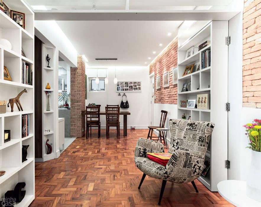 Apartamento Bela Vista - 45m² Salas de jantar escandinavas por Raphael Civille Arquitetura Escandinavo