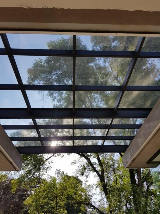 Merkalum Balcony Glass Black