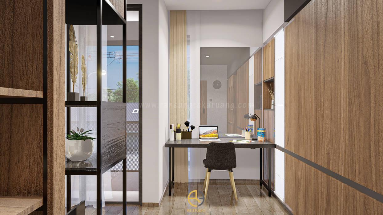 RYS House - Bapak Aris - Jakarta Timur Rancang Reka Ruang BedroomAccessories & decoration Multicolored
