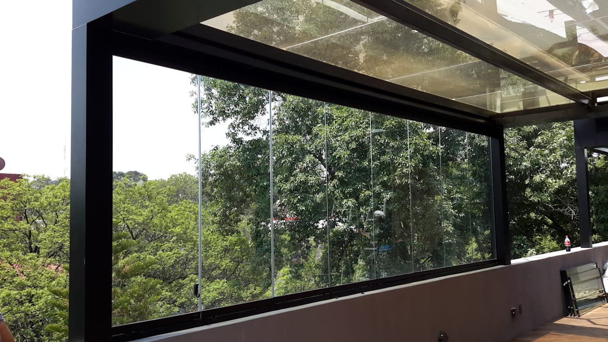 Merkalum uPVC windows Glass Transparent