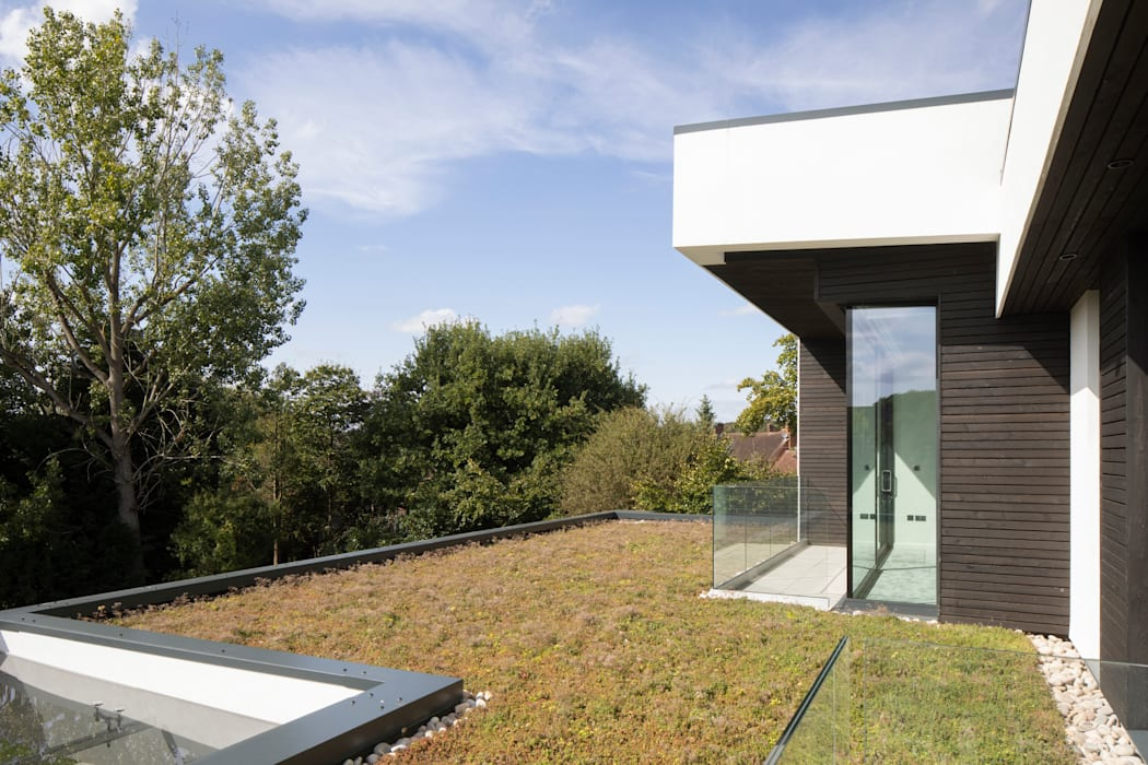 Green Roof Clear Architects Roof