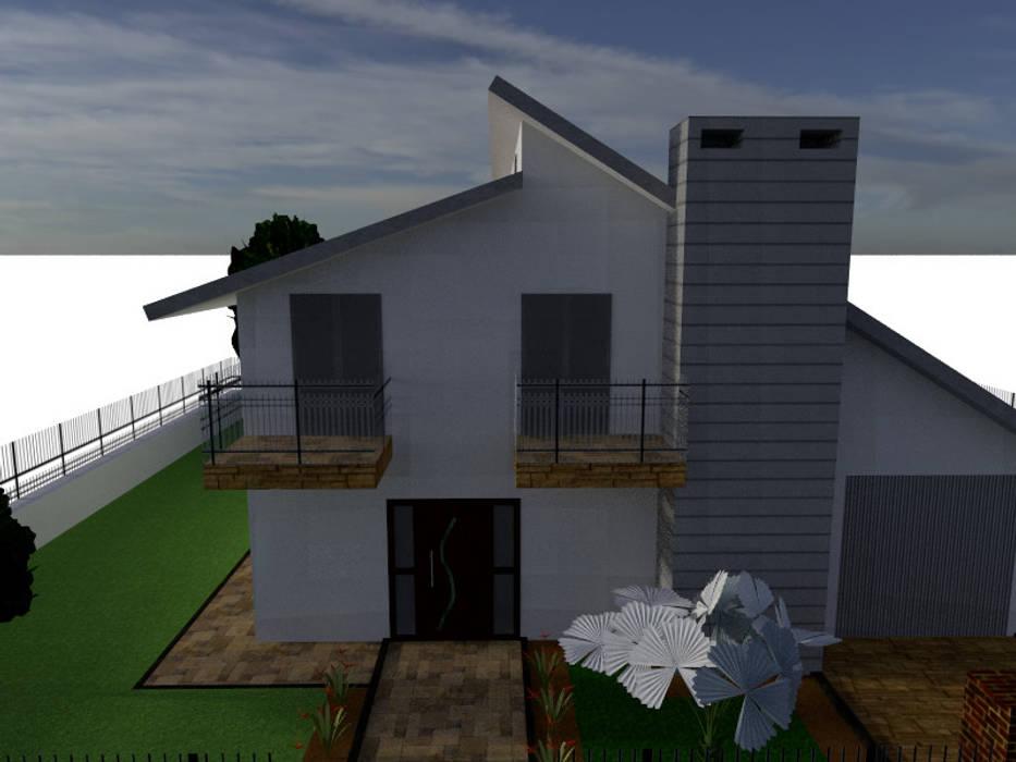 Render facciata DESEN Case moderne