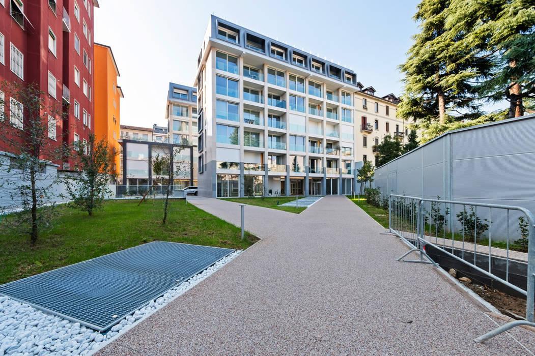 Cortile esterno Filippo Zuliani Architetto Giardino moderno