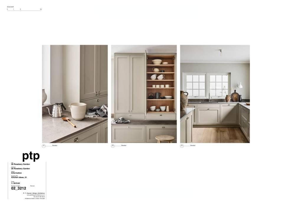 Country Kitchen ptp Design Architecture Kitchen units Beige