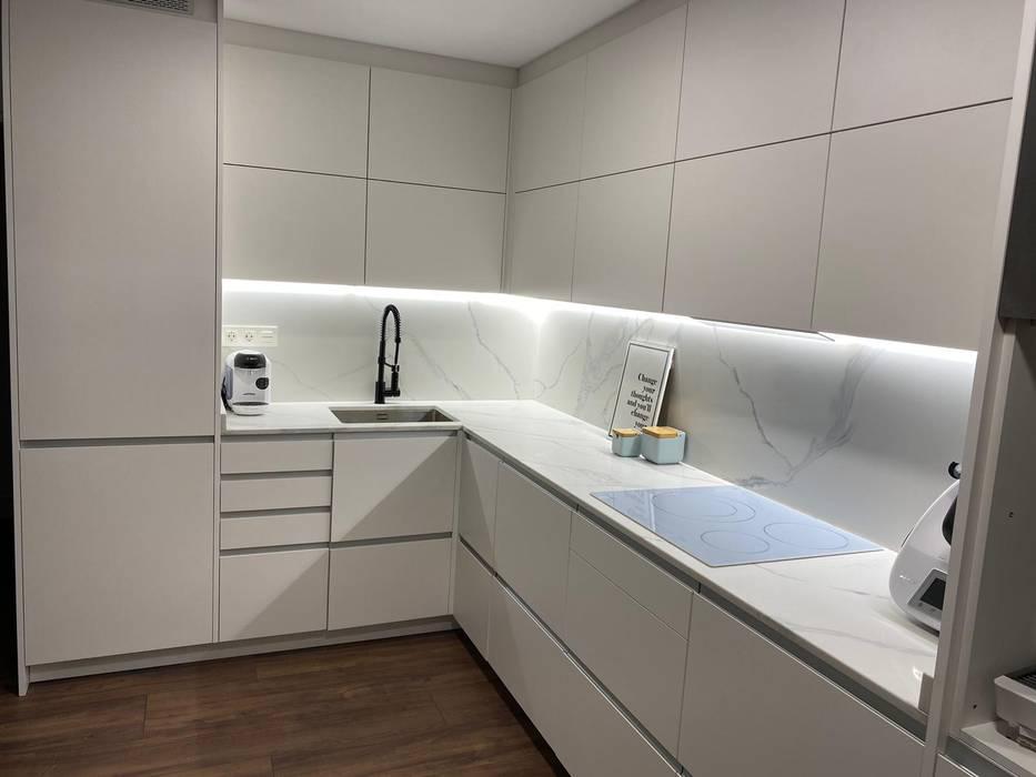 Refovert S.L. Built-in kitchens Tiles White