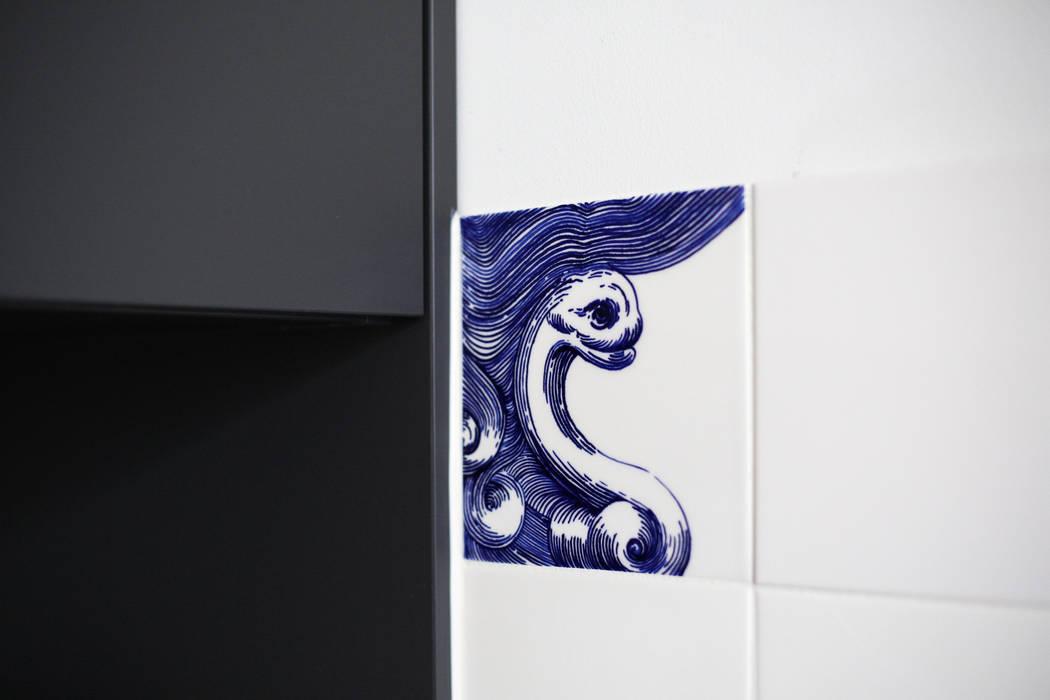 José den Hartog Walls Tiles Blue