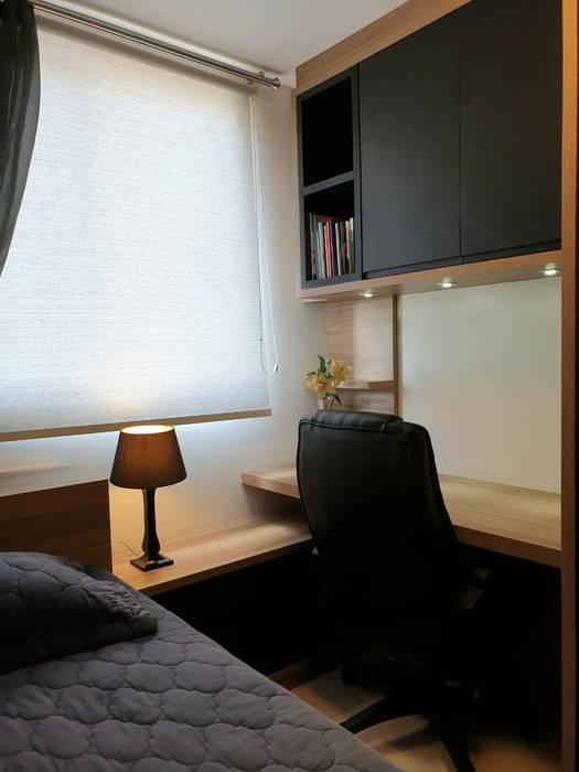 Larissa Minatti Interiores Small bedroom