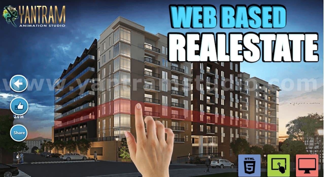 Web Based Real Virtual reality apps development by Virtual reality Companies, Santa Fe – New Mexico. Yantram Architectural Design Studio Corporation Commercial Spaces