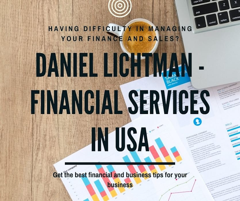 Daniel Lichtman - Professional Financial Services Daniel Lichtman Balcony آجر Amber/Gold