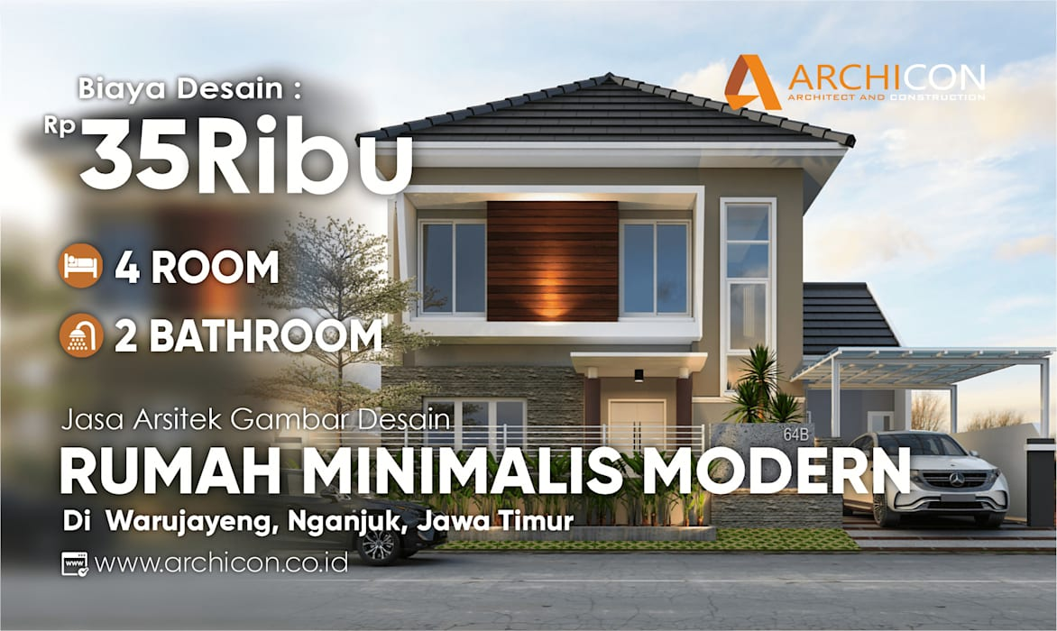 Jasa Arsitek Bandung | Jasa Desain Rumah Bandung | Jasa Desain Interior Bandung | Kota Bandung | Jasa kontraktor Bandung Archicon Architect Lantai Chipboard Transparent